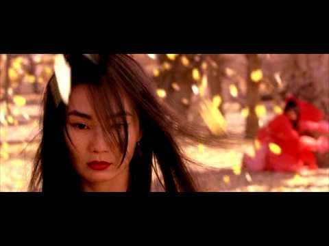 Flying Snow vs Moon. Zhang Yimou's movie Hero has some of the prettiest fight scenes ever filmed. Breathtakingly beautiful yellow leaves scene, almost an art-film.