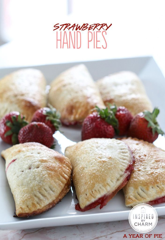 Strawberry Hand Pies | In The Kitchen | Pinterest