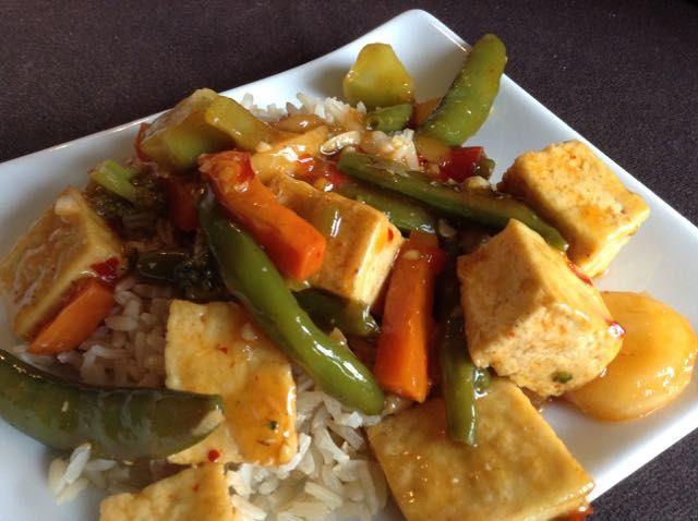 Sweet & Spicy Tofu Stir-Fry | Easy Dinner Recipe — Brown Vegan