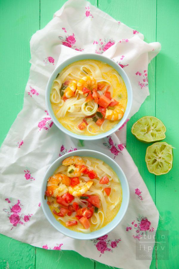 Błyskawiczna kuchnia. Zupa tajska w 7 minut!   Lawendowy Dom