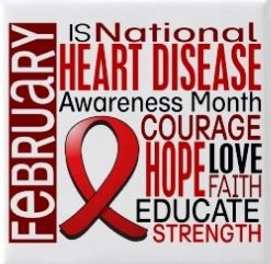 February is National Heart Disease Awareness Month