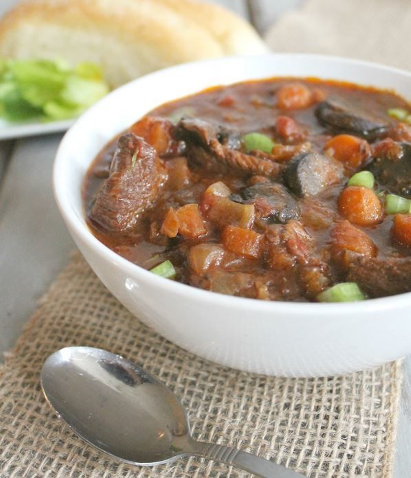 Slow Cooker Chunky Beef Stew Recipe Box Stew And The O 39 Jays