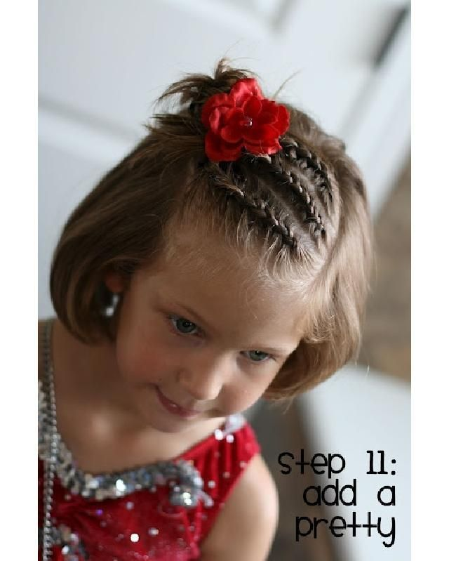 Cute Hairstyles with Tutorials for Your Daughter Braided Bangs Hairstyle for Little Girls via source : prettydesigns.com Share your flowers with us by tagging your photos with #hairtube #hair #hairstyle #hairdresser #hairfashion #hairstylist #hairofinstagram #hairoftheday #hairideas #hairlove #haircolor #trend #colorfulhair #instahair #coolhair #hairdye #haircolour #ombre #longhair #blondehair #brownhair #w?osy #extensions #hairextensions #extensionspecialist #fashion