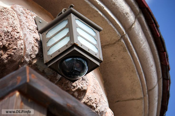 Security Cameras at Disneyland