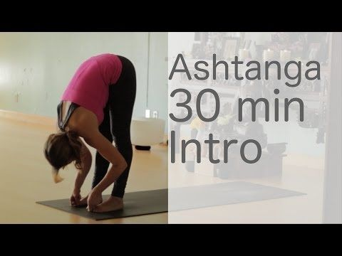 ▶ Yoga Body Workout: Free yoga class (Ashtanga 30 min intro class) with Lesley Fightmaster - YouTube
