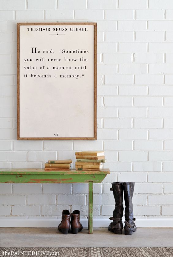 8 Large Scale Book Quote Art FREE Printables