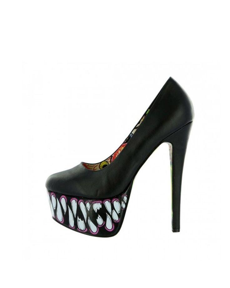 Fekete női magassarkú Iron Fist Timmy Chew Super Platform - Körömcipő - Női cipők | Cipofalva.hu