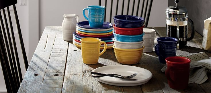 Browse Crate and Barrel for a wide range of dinnerware. Find formal and casual dishes in a variety of colors and styles. Order online.