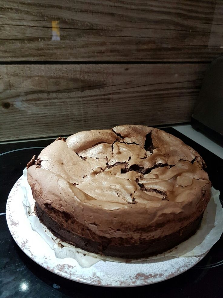 Choc mud pav cake