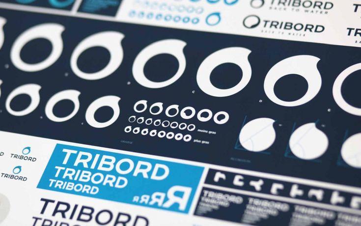 Fundada en 1996 , Tribord es una marca del grupo Decathlon, especializada en material para deportes acuáticos (surf, submarinismo, kayak y vela, entre otros). Para posicionarse como líderes en este sector, la marca decidió apostar por una nueva identidad visual que unificase todos los elementos de la marca y destacase el elemento del agua como eje de la compañía.