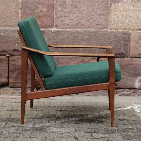 Scandinavia. Teakwood armchair. 1960 - 1965.