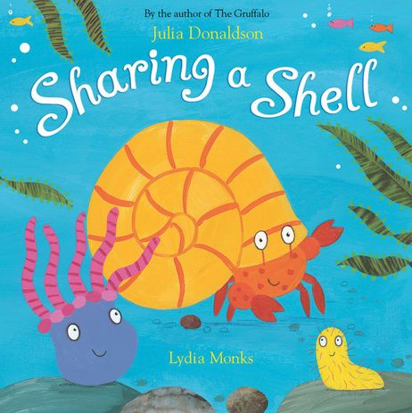 Sharing a Shell by Julia Donaldson             (author of The Gruffalo)  Just brilliant!