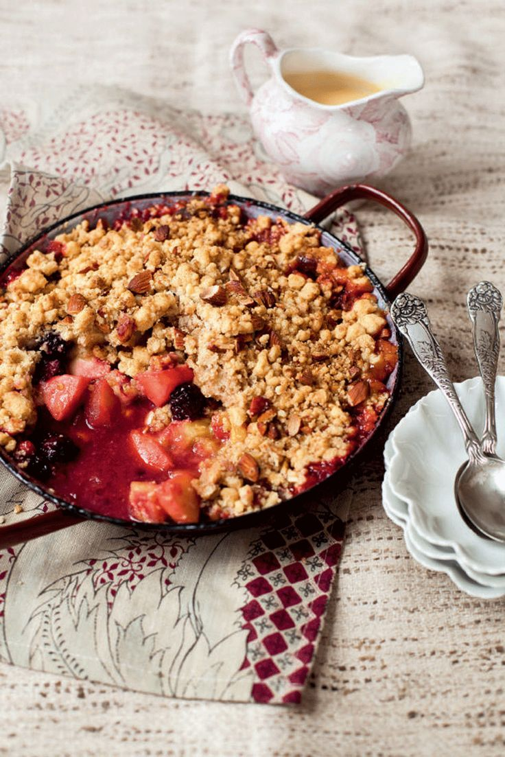 Make the most of British apples with this apple crumble recipe.