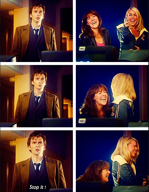 That awkward moment when your new girl & your ex are both laughing and pointing at you. <3 Sarah Jane