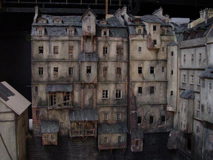 model domů do filmu Parfém - příběh vraha
