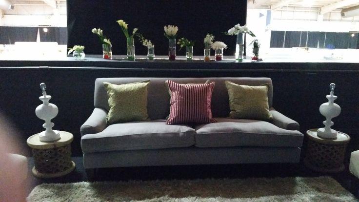 @Decorex2014 VIP Lounge flower arrangements