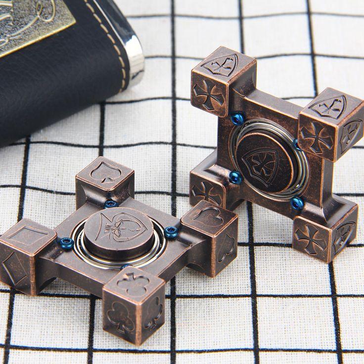 Spinner en acier de couleur bronze Acier Flamme Main Spinner Toupie En Laiton Fidget Spinner Jouets avec R188 Roulement En Acier Poker et Croisé Types Main Filateurs - Price: $50.95    Buy one here---> https://skyspinnerz.com/produit/spinner-en-acier-de-couleur-bronze-acier-flamme-main-spinner-toupie-en-laiton-fidget-spinner-jouets-avec-r188-roulement-en-acier-poker-et-croise-types-main-filateurs/    #spinner