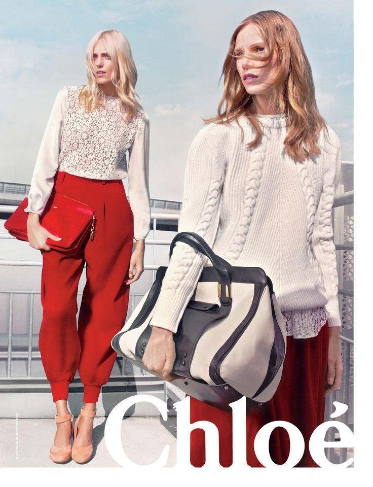 Chloe Fall/Winter 2012-2013 Ad campaign. THE PANTS GUYS> the pants. !!