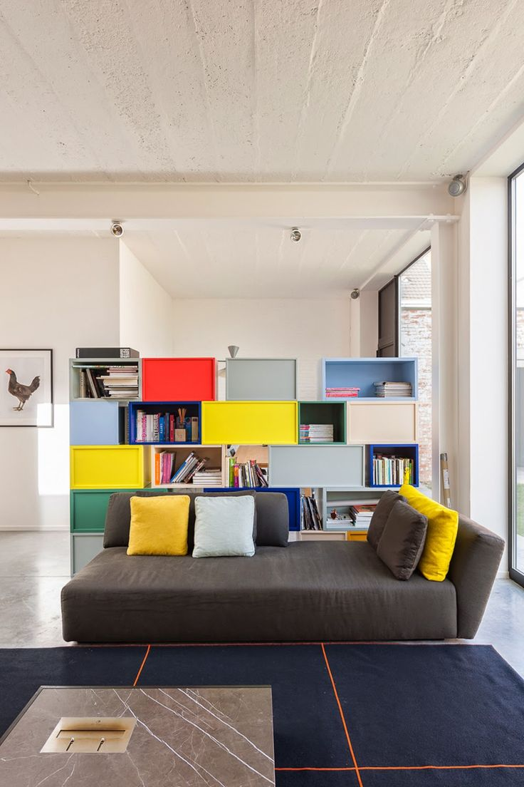 718 Best Images About Interior Design In Color On Pinterest . Living Room  Loft Amman The ... Part 54