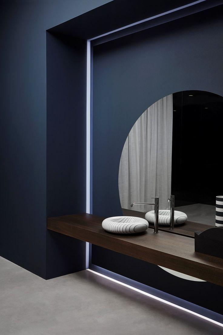 Vasque à poser ovale en marbre de Carrara I GESSA…