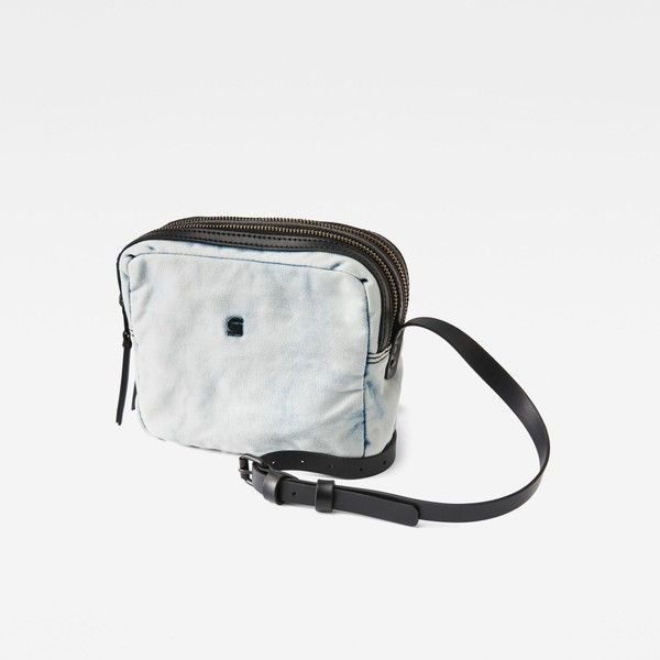 G-Star RAW Mozoe Small Shoulder Bag ($55) ❤ liked on Polyvore featuring bags, handbags, shoulder bags, white purse, woven purse, white shoulder bag, woven handbags and shoulder hand bags
