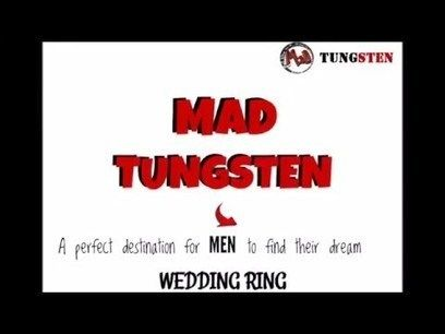 Mad Tungsten Australia- Get your perfect ring for your wedding