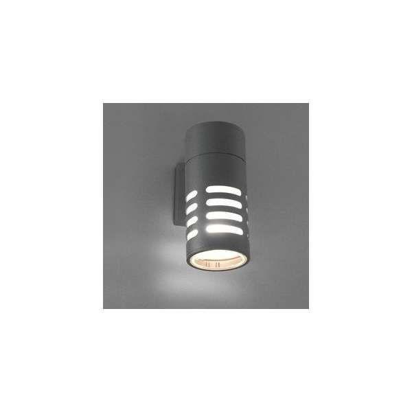 Zewnętrzna LAMPA ścienna MEKONG 4418 Nowodvorski elewacyjna OPRAWA ogrodowa KINKIET outdoor IP54 tuba grafitowy