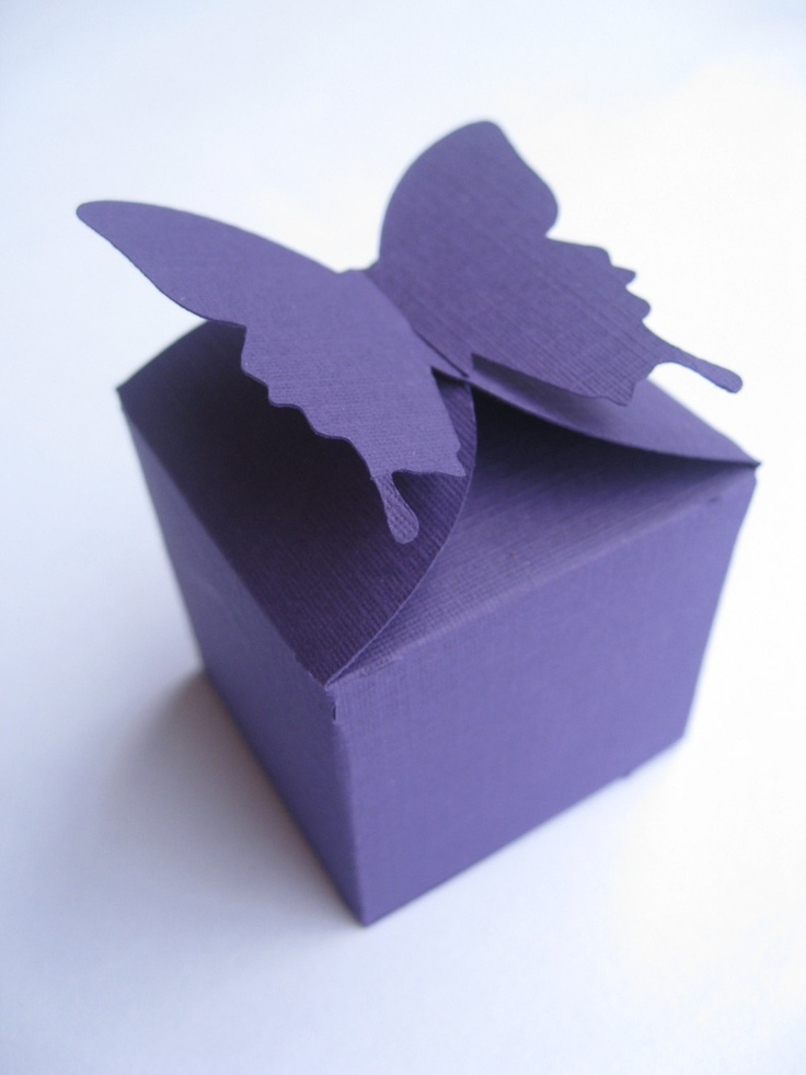 50 Butterfly Favor Boxes. You CHOOSE THE COLORS. Any Amount Available. Many Different Styles. Custom Orders Welcome.. $45.00, via Etsy.