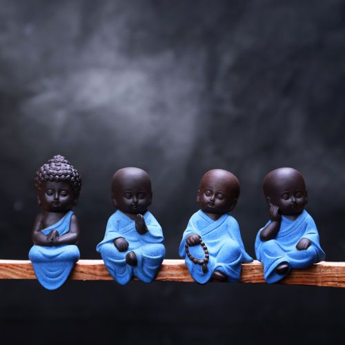 Small-Buddha-Statue-Statuette-Yoga-Decor-Ceramic-Handicrafts-Ornaments-Home-Cute