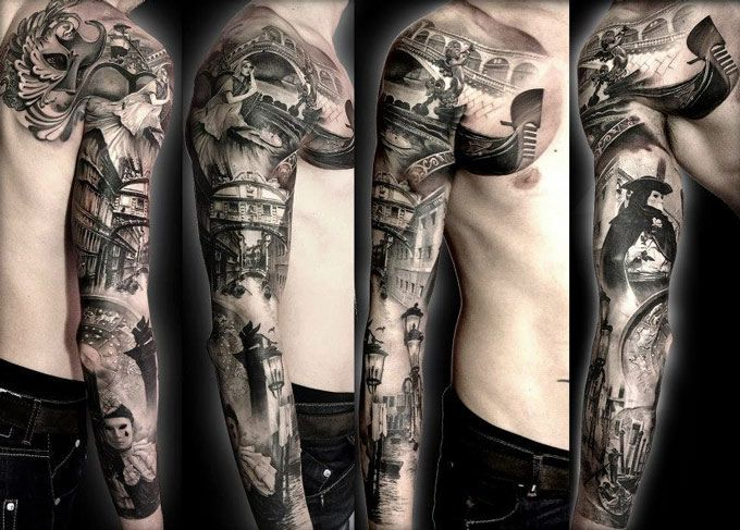 Realism Tattoo by Matteo Pasqualin | Tattoo No. 6284