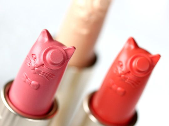 YES!! cat lipsticks