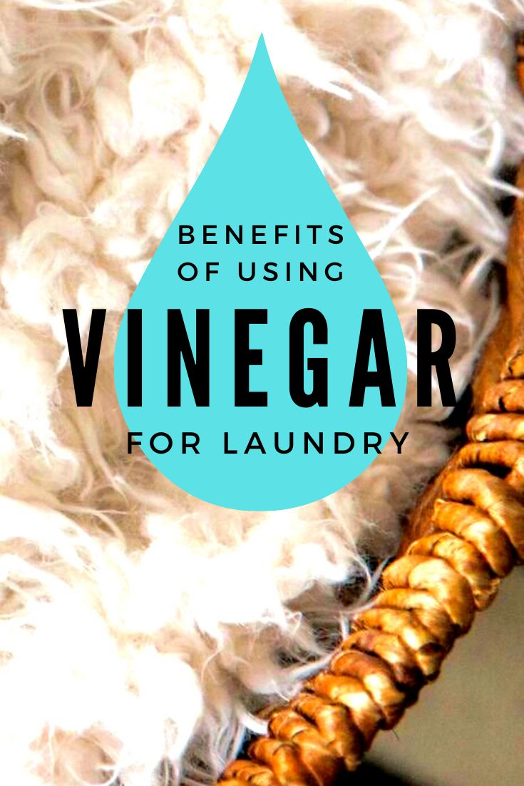 Benefits of Vinegar in Your Laundry in 2020 Vinegar