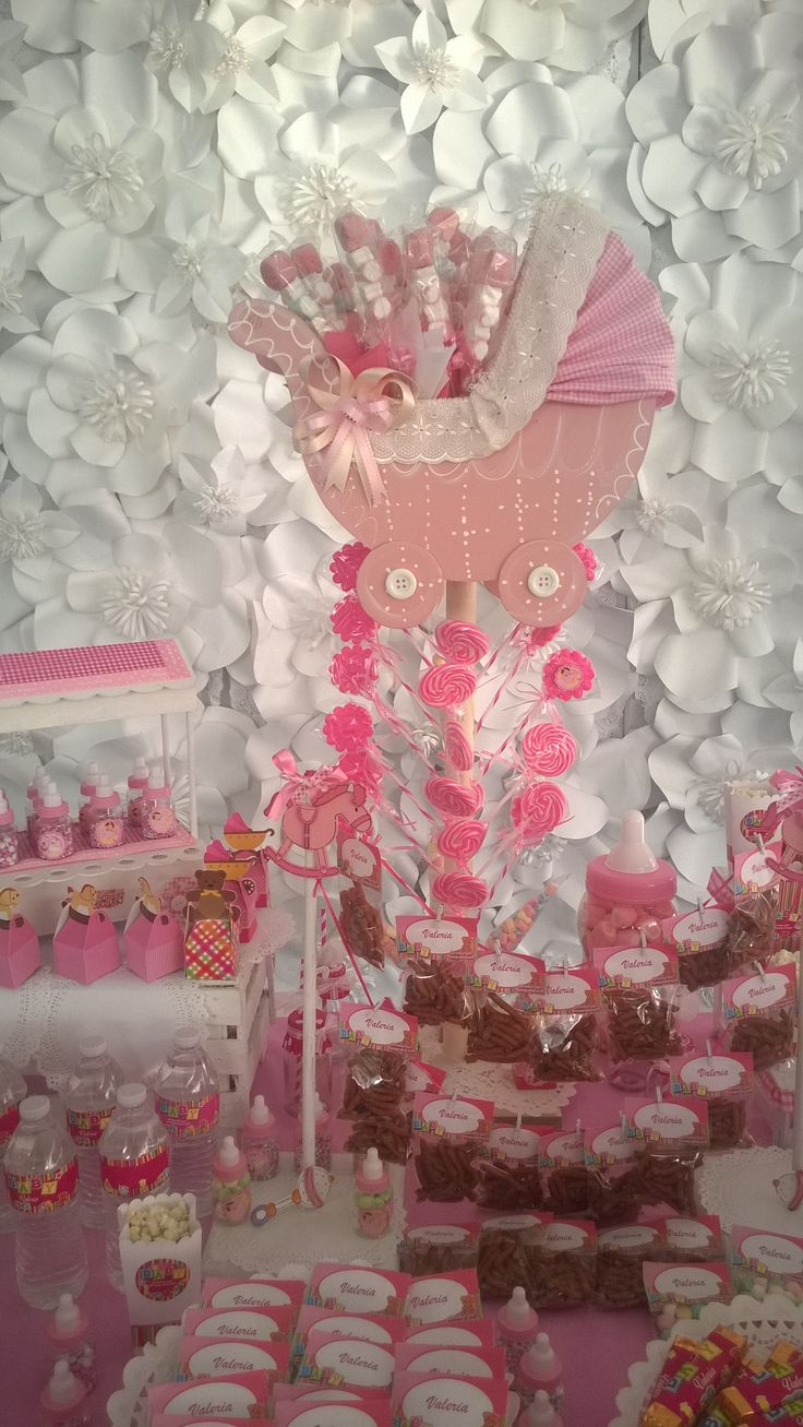 Best 25 accesorios para baby shower ideas on pinterest for Mesa dulce para baby shower