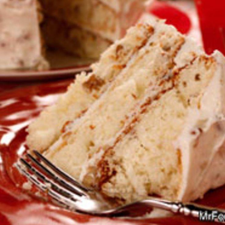 ITALIAN CREAM CAKE Recipe 6 | Just A Pinch Recipes