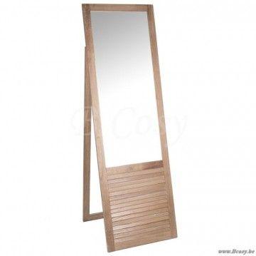 20 beste idee n over houten spiegel op pinterest for Staande spiegel hout