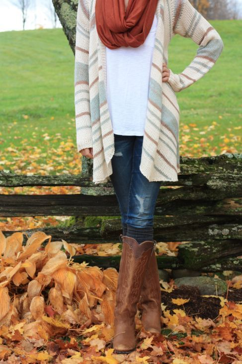Love this look for fall!