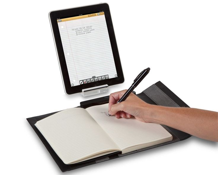Targus iNotebook instantly copies handwritten notes to your iPad.