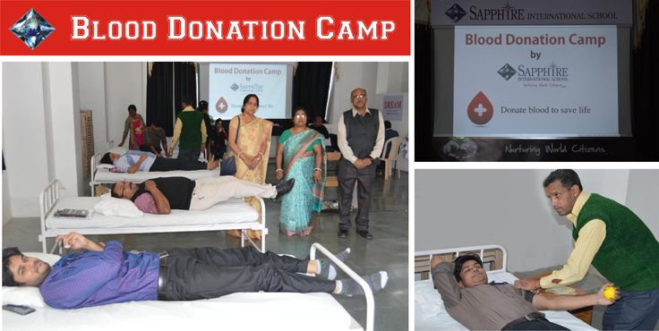 "Supporting the motto ""Donate Blood to Save Life"" Sapphire International School initiated a blood donation camp at its premises today. The staff and teachers of Happy Feet and Sapphire enthusiastically supported the cause along with the parents in great numbers. The camp was headed by Dr. Divendu Bose of RIMS Blood Bank, assisted by his team of technicians, Mr. Arvind Kumar, Mr. Manoj Kumar, Mr. Tej Narayan and Ms. Alex Tirkey."