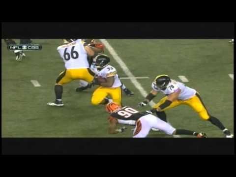 Cincinnati Bengals  vs  Pittsburgh  Steelers - End of game January 9 - 2016