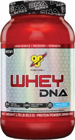 BSN Whey DNA Vanilla Cream 25 Servings BSN2770012 Vanilla Cream - Low Calorie Formula to Support Recovery and Strength*