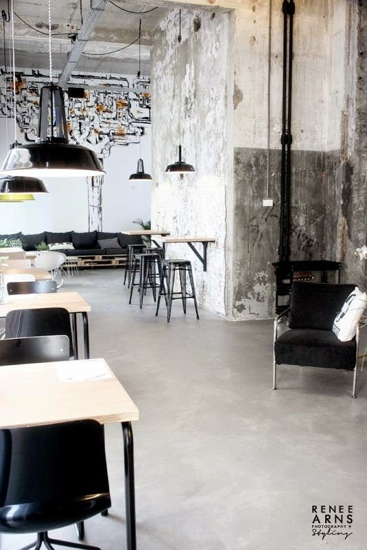 An Industrial Deli and Take Away   at 'the Leidingstraat'