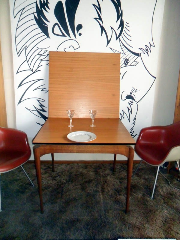 lots of shots of my collector designer dining-table one of two only in Australia