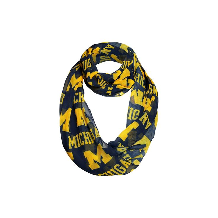 NCAA Michigan Wolverines Infinity Scarf, Women's