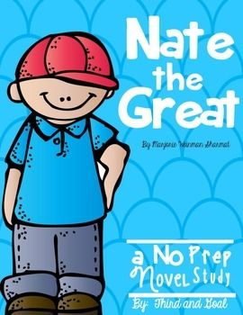 This packet contains all that you need for the book Nate the Great by Marjorie Weinman Sharmat. It can be used for guided reading groups, individual reading, or as a whole class study. The students will respond to each chapter by answering comprehension questions and then completing a reading response activity.