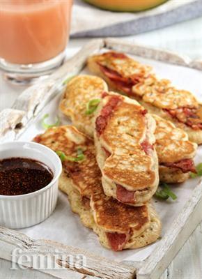 Bacon Dipper Pancakes