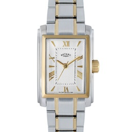 Rotary Ladies Two-tone Case Watch - LB02804/01Lady Rotary, Cases Watches, Rotary Watches, Rotary Lady, Watches Rotary, Lady Two Ton, Lady Timepiece, Lady Twotone, Bracelets Watches Lb02804 01