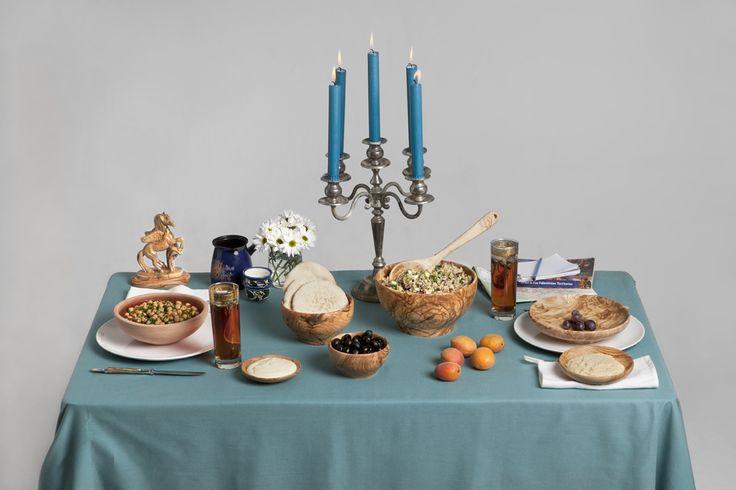 Bord inspirert av Midtøsten // Table inspired by the Middle East. www.evamia.no