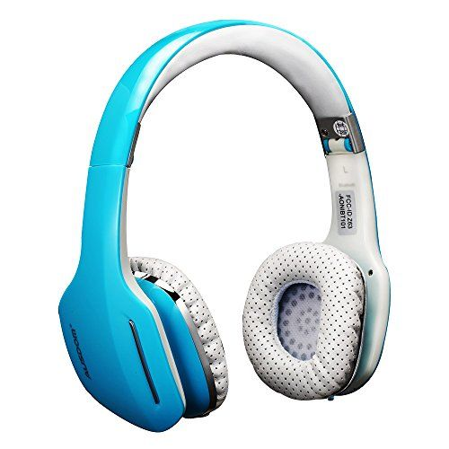 Cheap Ausdom M07 Wired   Wireless Foldable Bluetooth CSR v4.0 EDR (Enhanced Data Rate)Headset On-Ear Stereo Earphone w/ Microphone for Universal Devices including iPhone / Smartphone / Macbook / Laptop / Tablet PC / iPad / MP3 / MP4 etc with APT-X Built-in Microphone for Music Streaming    Hands-free Calling Blue Best Selling