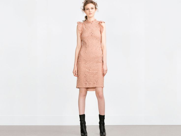 vestiti pizzo Zara 2016