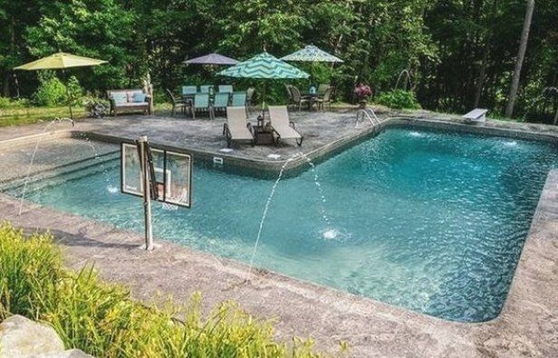 Inground Swimming Pool Designs Best L Shaped Pools Images L Shaped Coping For Waterfalls Side Renovations Landsc Swimming Pool Designs Pool Images Pool Designs
